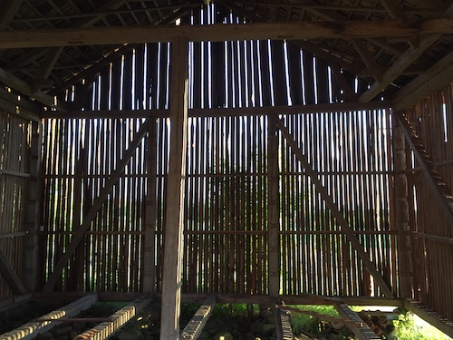 Sissi and Daniel's Barn, Kalbo. A site of transparent inspiration.