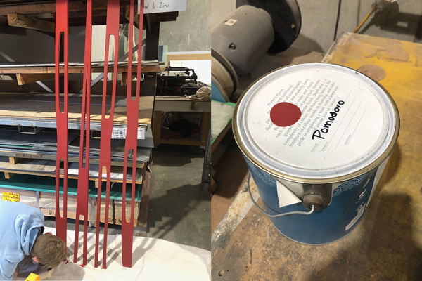 Painting the Barn Wall text with close match to Falu Röt - Swedish red