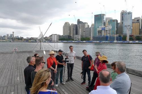 Darling Harbour site visit