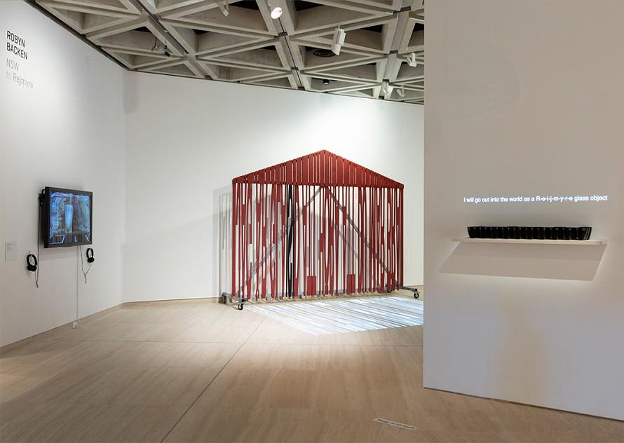 Opening installation at AGWA